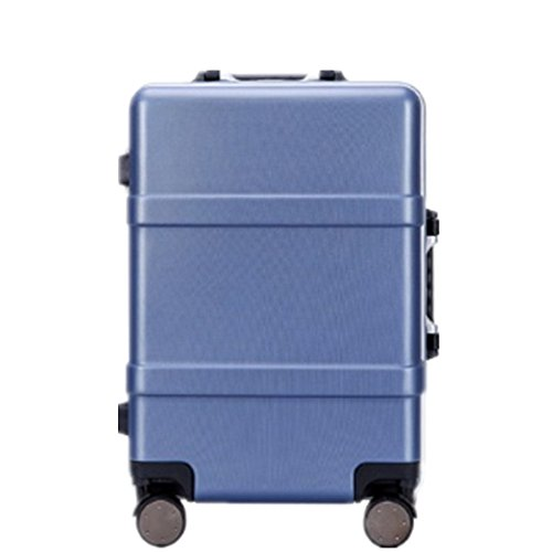 Zhanghanzong-apparel Suitcases Pull Rod Box Aluminum Frame ABS+PC Suitcase Chassis Consignment Box Universal Wheel Trunk…
