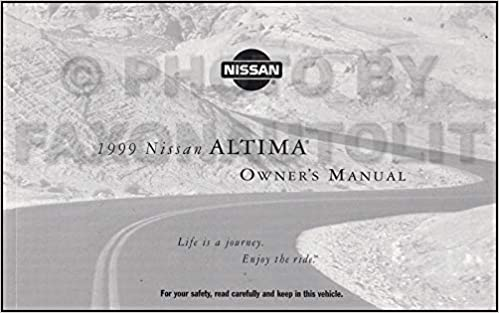 nissan altima 1999 owners manual