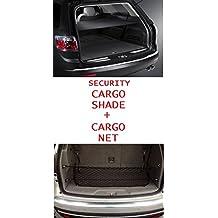Cargo Security Flip Shade + Cargo Net for CHEVROLET TRAVERSE 2009 2010 2011 2012 2013 2014 2015 2016 - Ebony NEW
