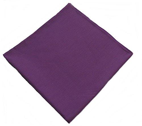 Western Ranch Bandana Halstuch Nikkituch Kopftuch Baumwolle viele leuchtende Uni Farben aussuchen