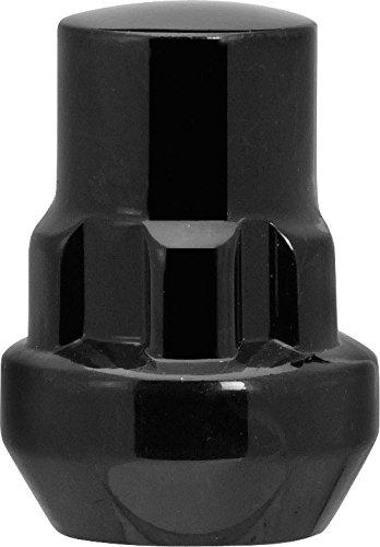 Black Cone Seat Wheel Locks Socket Style 1.26' Long (Contains 4 Locks & 1 Key) 12X1.25 R.H. CECO