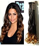 Uniwigs Ombre Color 170g Ombre Clip in Hair Extension Synthetic 26 Inches