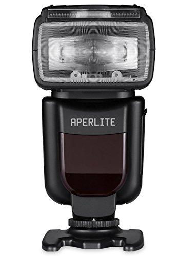 Aperlite Speedlite für Canon, Pro Speedlight Blitzgerät mit TTL für Canon DSLR Kamera, YH-700C