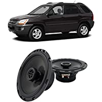 Fits Kia Sportage 2005-2010 Front Door Factory Replacement Harmony HA-R65 Speakers New