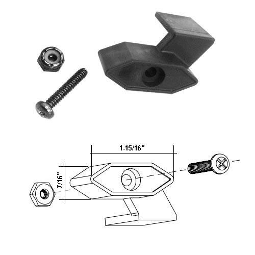 Shower Door Travel Latch Assembly for Neo Angle Shower Door - Neo Unit Shower Angle