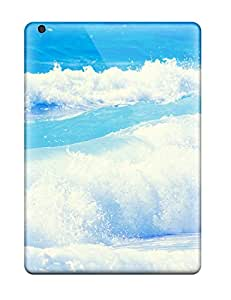 Special Design Back Waves Phone Case Cover For Ipad Air