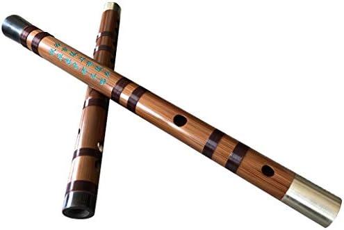 楽器 ディジー5年ビターバンブーフルートスーパーサウンド練習用またはパフォーマンスピッコロFキー付きアクセサリー人気のギフト 木管楽器 (Color : Key of F)