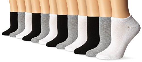 Tipi Toe Women's 12-Pairs Low Cut / No Show Athletic Sport Socks