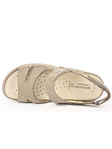 Sandalo Grunland Nubuk Se0055 Taupe Laba EwqAUOTw