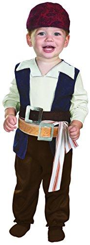 Jack Sparrow Costume - Baby 12-18