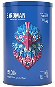 Birdman Falcon Protein Proteina Vegetal En Polvo (Vegana), 24gr proteina, Sin inflamacion, Sin acne, 39 Porcio