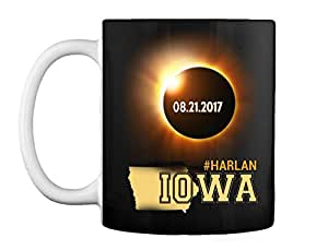 Harlan Iowa Eclipse 2017 - Ceramic Coffee/Tea Mug 11 oz