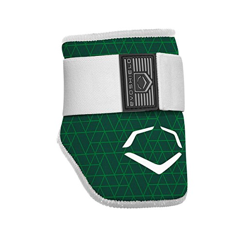 (EvoShield EvoCharge Batter's Elbow Guard - Adult, Green)