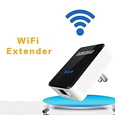 MSRM US300 300Mbps Wireless-N WiFi Range Extender, WiFi Repeater with Support Repeater and AP Mode