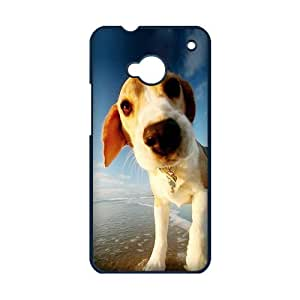 Cute Dog Personalized Custom Phone Case For HTC ONE M7 Hard Case Cover Skin