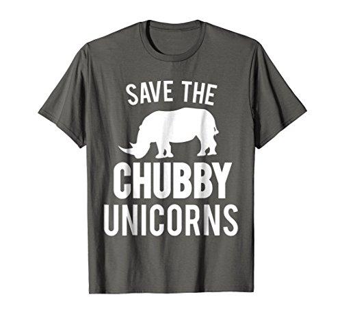 Chubby Unicorn Shirt Funny Sarcasm Awareness Rhinos