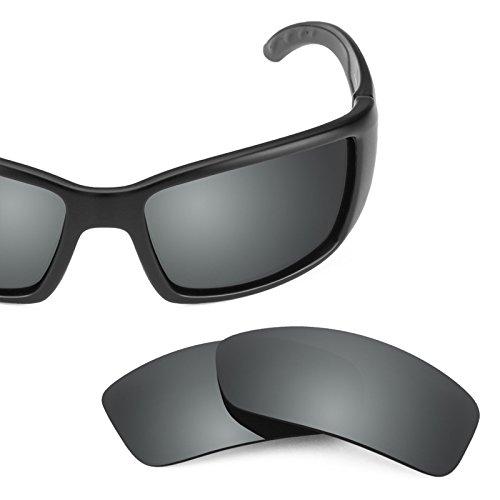 Lentes Elite — Negro De Blackfin Opciones Para Repuesto Múltiples Revant Costa Polarizados Mirrorshield Chrome 4qdS47