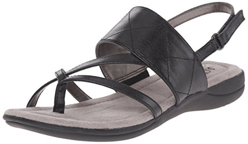 LifeStride Women's Eclipse Dress Sandal,Black,9.5 M (Black Eclipse Casual Shoes)
