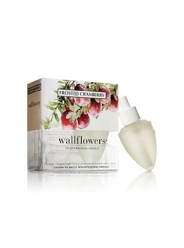 Bath and Body Works Slatkin & Co. Wallflowers Home Fragrance Refills Frosted Cranberry B00443RR3W