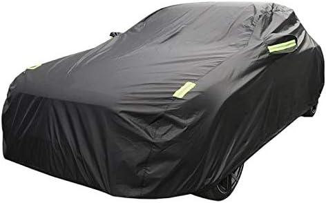 LIUFS Couverture De Voiture Compatible avec Porsche Panamera 4S Housse De Protection Solaire Ext/éRieure Imperm/éAble Et Coupe-Vent B/âChe De Voiture Ignifuge /éLev/é Doubl/éE De Coton Absorbant