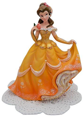Haute Baby Jungle - Enesco Disney Showcase Couture de Force Princess Stone Resin Figurine with Westbraid Doily (Belle)