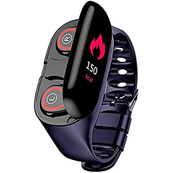 Amazon.com: PGTC Fitness Sport Smartwatch Bluetooth Headset ...