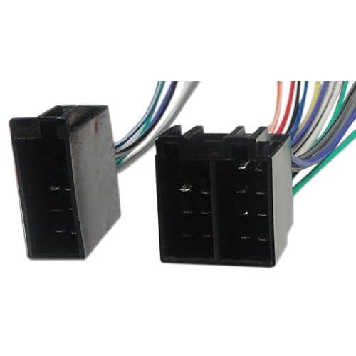 vw radio wiring harnesses amazon com absolute usa h1004 9002 radio wiring harness for volkswagen 1987 2002 power 4 speaker