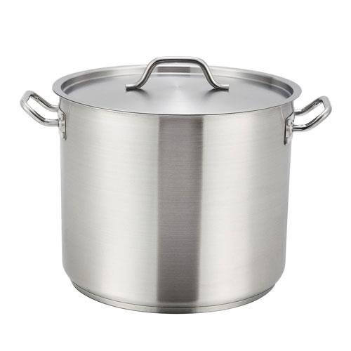 Stainless Steel 32-Qt Master Cook Stock Pot With Cover