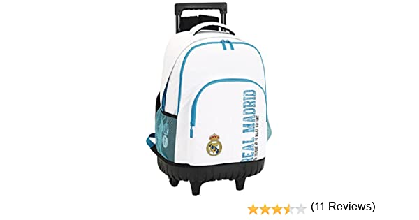 Real Madrid Safta Sf-611754818 Mochila grande, 45 cm, Multicolor