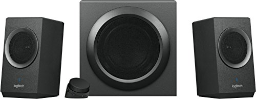 80 Watt Speaker System - Logitech Z337 Bold Sound Bluetooth Wireless 2.1 Speaker System for Computers, Smartphones and Tablets