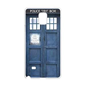 Blue police box Cell Phone Case for Samsung Galaxy Note4