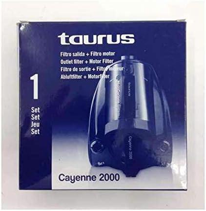 Taurus - Set Filtro 999158, Para Aspirador Cayenne 2000: Amazon.es: Hogar