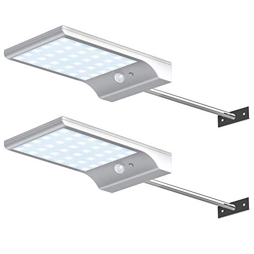 Outdoor Solar Sconce Lights in US - 7