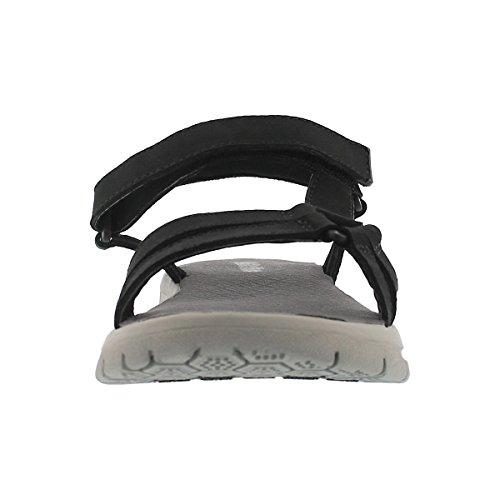 Sandalo Sportivo Donna Softmoc Chrissy Nero