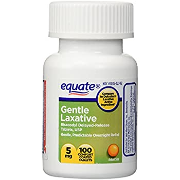 Amazon Com Equate Gentle Laxative Delayed Release 100