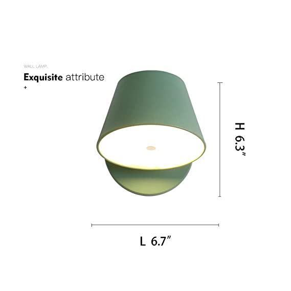 CYRDJ Aplique de Pared Moderno, lámpara de Pared Creativa de ...