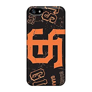 Durable San Francisco Giants Back Case/cover For Iphone 5/5s