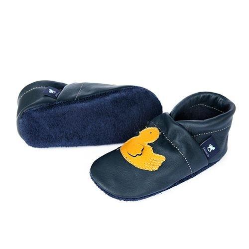 Mujer Casa Zapatillas Mit Blau Pantau eu Pantoffeln Piel Lederpuschen gelb 36 Ente Por Patschen Schluffen Schlappen Hauschuhe Leder Puschen Estar 45 De Größen Para ww1Uz6S