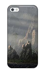 MaritzaKentDiaz Iphone 5/5s Hybrid Tpu Case Cover Silicon Bumper The Landscape by icecream design