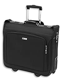 "London Fog Buckingham 44"" Wheeled Garment Bag, Black"
