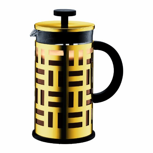 Bodum Eileen French Press Coffee Maker, 34-Ounce, Gold Chrome by Bodum