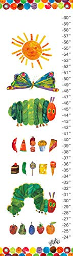 Oopsy Daisy Eric Carle's The Very Hungry Caterpillar Growth Chart, 12 by 42-Inch ()