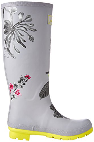 Women's Slvbrby Welly Joules Print Silver pxqggdw5