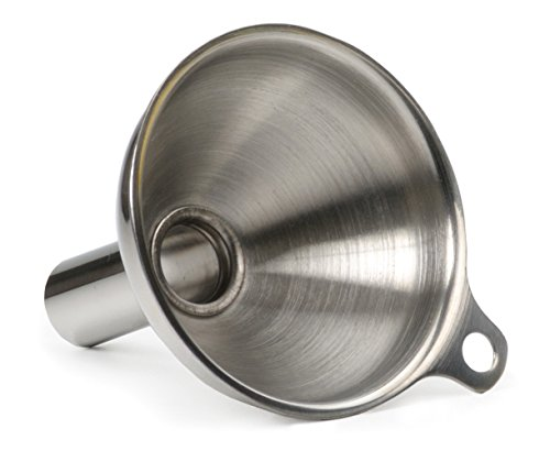 Stainless Steel Funnel - For Filling Narrow Jars and Bottles, 1 pc