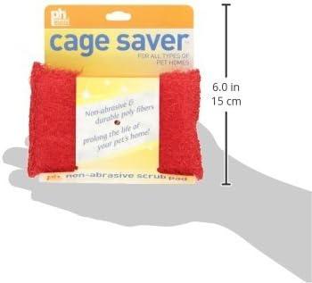 Cage Saver Scrub Pads 3 Pack Prevue Hendryx