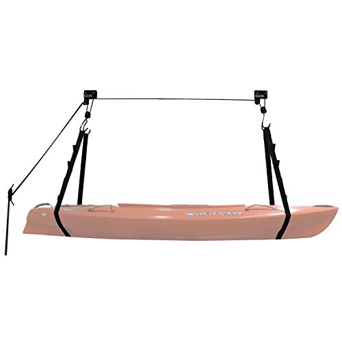 Extreme Max 3004.0204 Kayak/Canoe / Bike/Ladder Hoist & Lift for Storage in Shop or Garage - 120 lb. Capacity (Hoist Bike Pulley System)