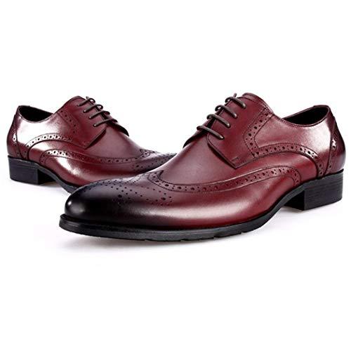 De Invierno Negro Tamaño Botas Casuales 45 Red E Gamuza Brock Británica Tallado Hombres Cuero color Otoño Moda Los Flysxp Zapatos Ctqwpw