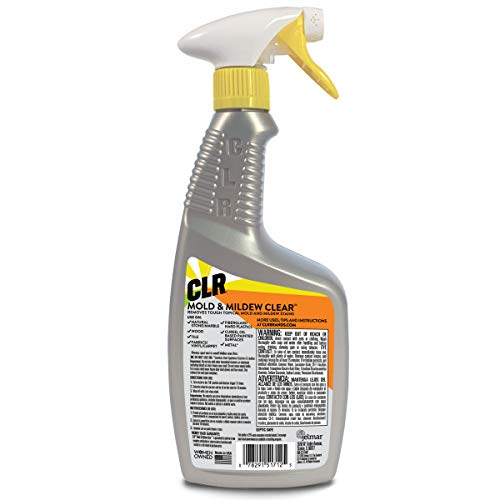 CLR Mold & Mildew Clear, Bleach-Free Stain Remover, 32 Ounce Spray Bottle