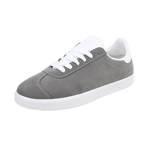 M Top m Grey Sneakers Low amp;Co Dark Women's 8zqr8