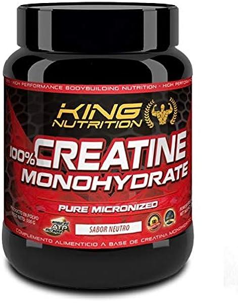100% Creatine Monohydrate 500gr King Nutrition Creatina ...